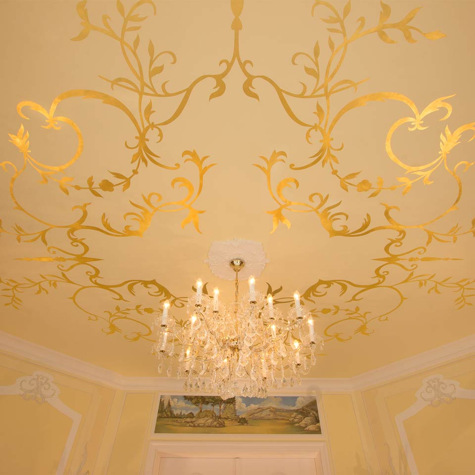 Exklusives Interior Design Mit Blattgold | GOLD ORNAT